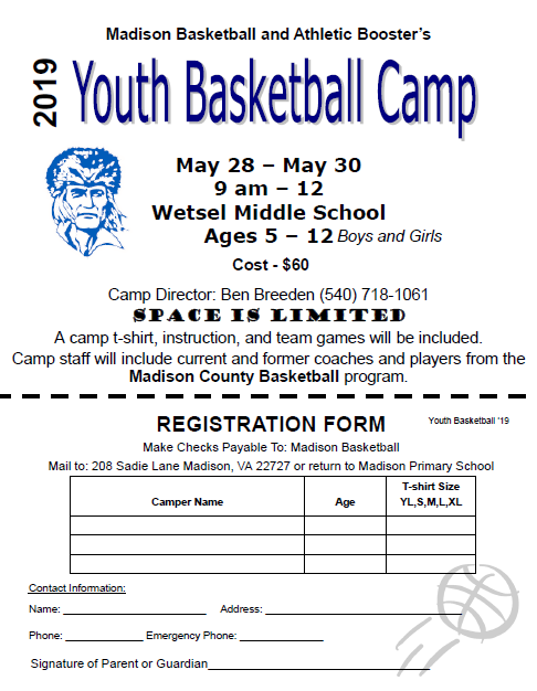 2019 Youth Basketball Camp