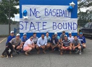 MCHS Baseball Team Before Leaving Madison for State Championship