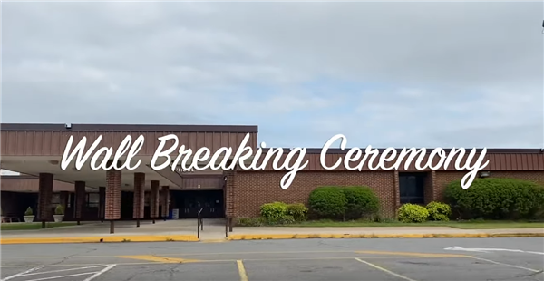 Wall Breaking Ceremony