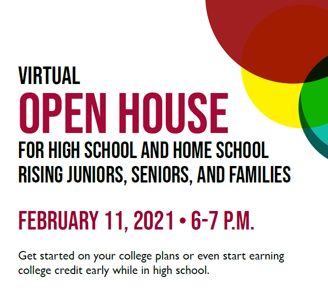 Germanna Open House for Rising 11th and 12th graders - Dual Enrollment